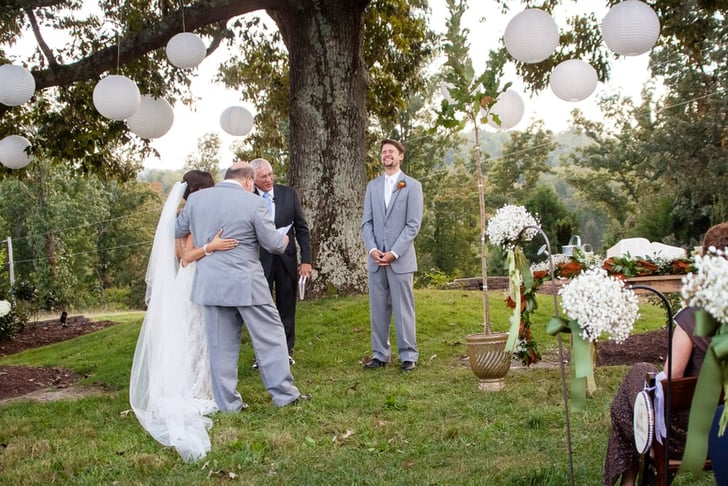 First Look Wedding Ideas Popsugar Love Sex
