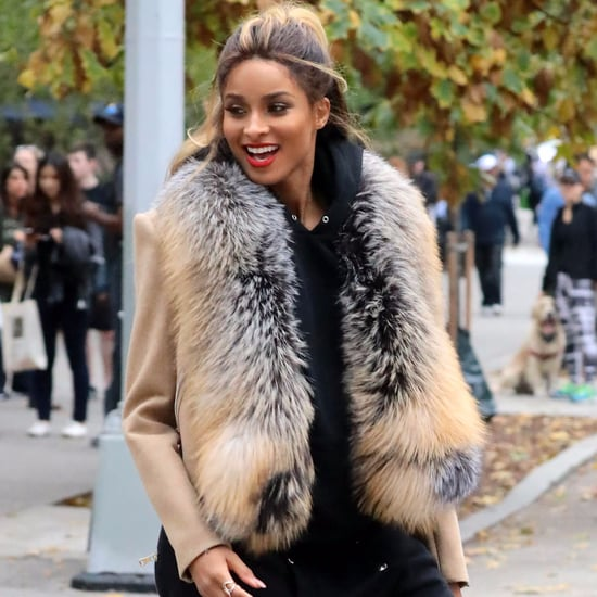 Ciara Filming Music Video in NYC November 2016