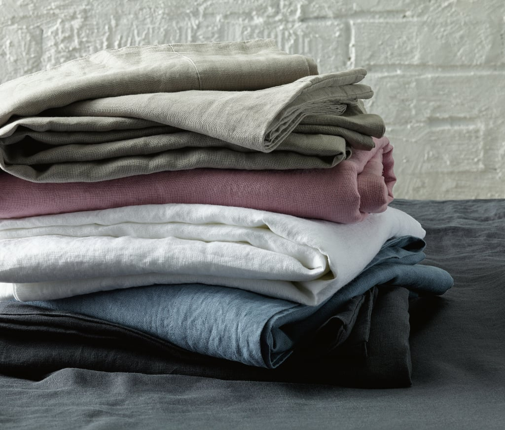 French Linen Queen Fitted Sheet Set, $89.99
