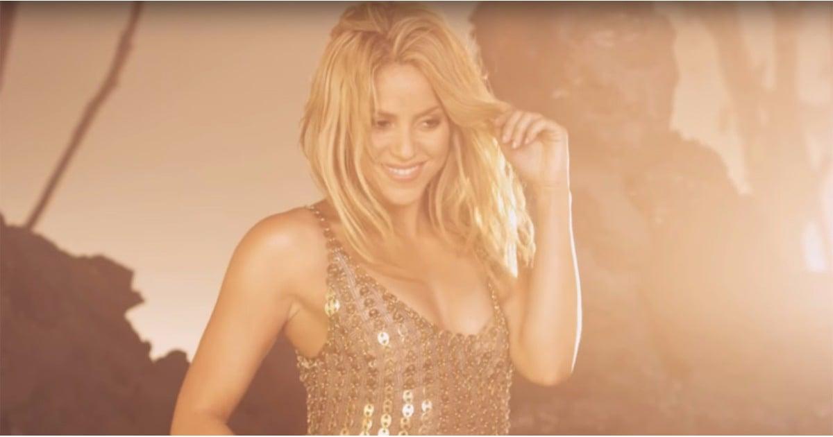 Shakira belly dancing gif
