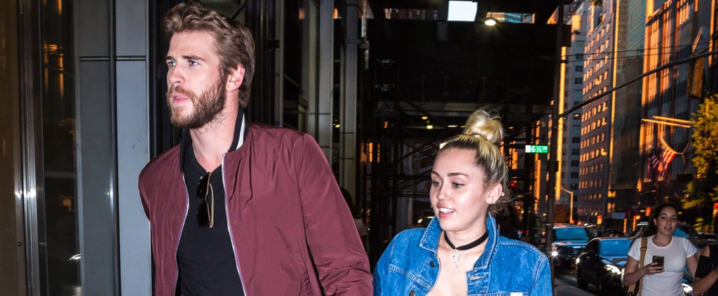 Miley Cyrus and Liam Hemsworth Hold Hands While Out in NYC