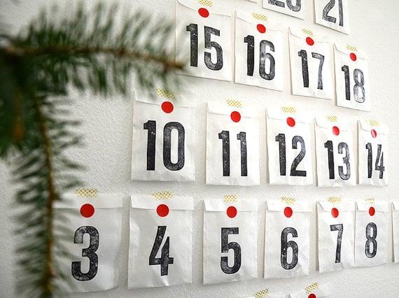 Buy Diy Calendar Kit Christmas Advent Calendars Popsugar Family