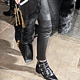 These buckled boots, though. We need 'em, Gigi!