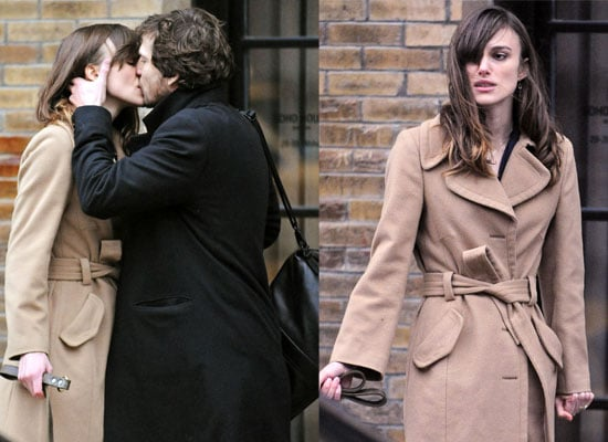 28/10/08 Keira Knightley And Guillaume Canet