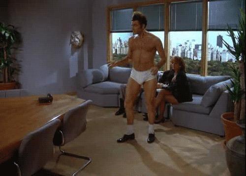 When Kramer Dances in His Underwear