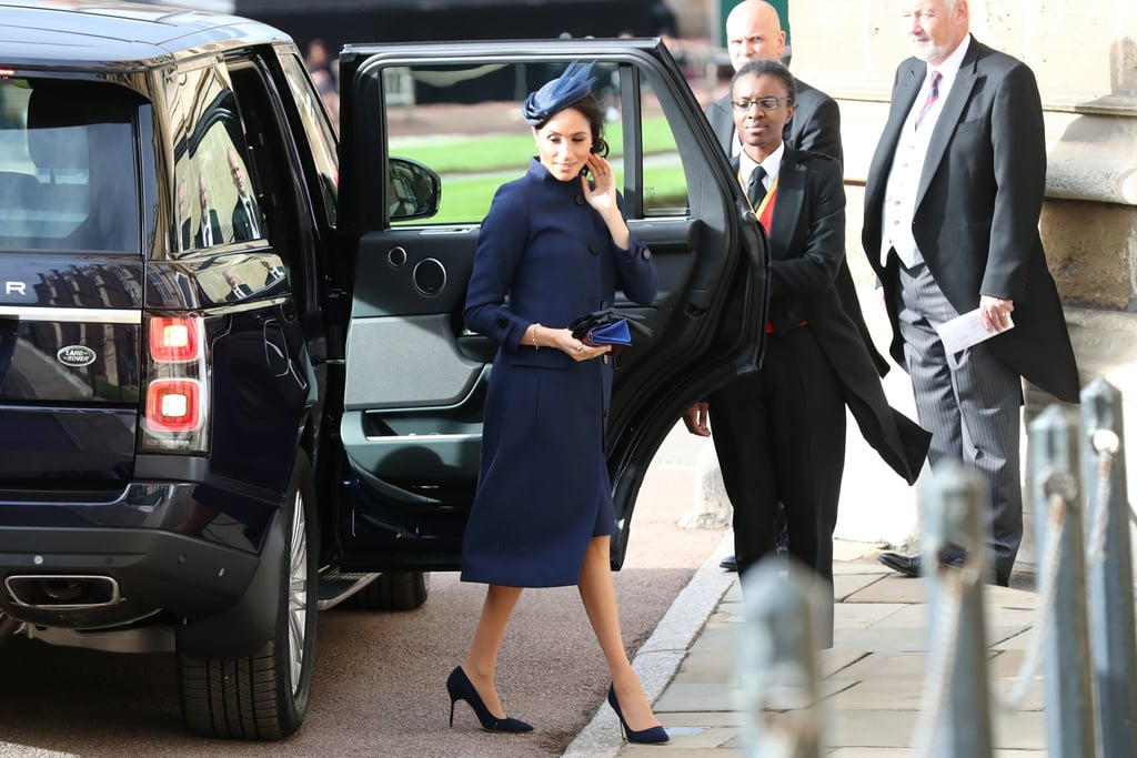 Meghan Markle's Dress at Princess Eugenie's Wedding