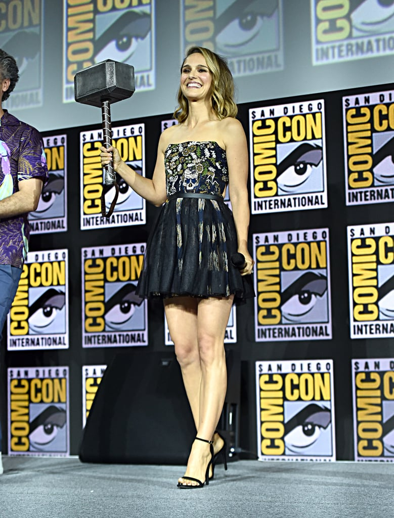 Pictured: Natalie Portman at San Diego Comic-Con.