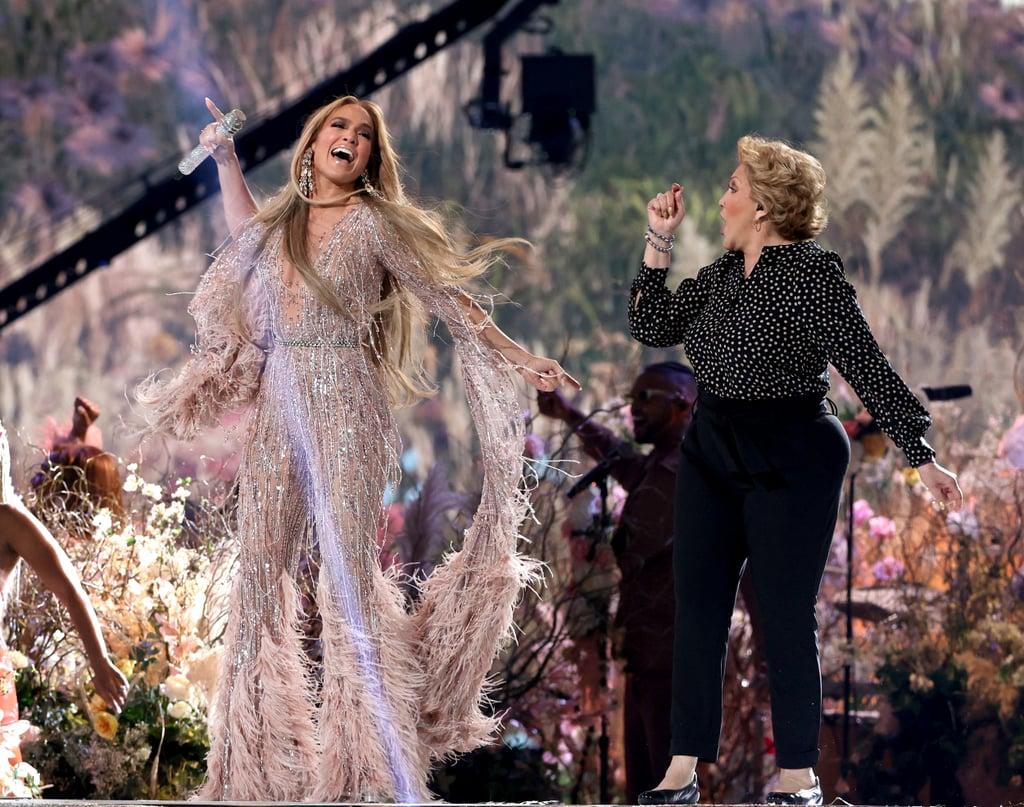 Jennifer Lopez's Global Citizen Vax Live Concert Outfits
