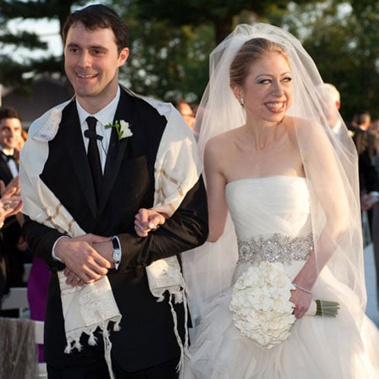 Chelsea Clinton married Marc Mezvinsky outside of NYC in August of 2010.