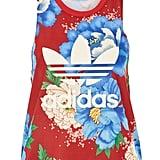 Adidas Floral Trefoil Tank