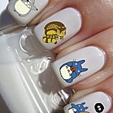 Totoro Nail Art Decals ($2)