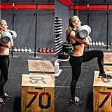 Dumbbell Box Step-Ups