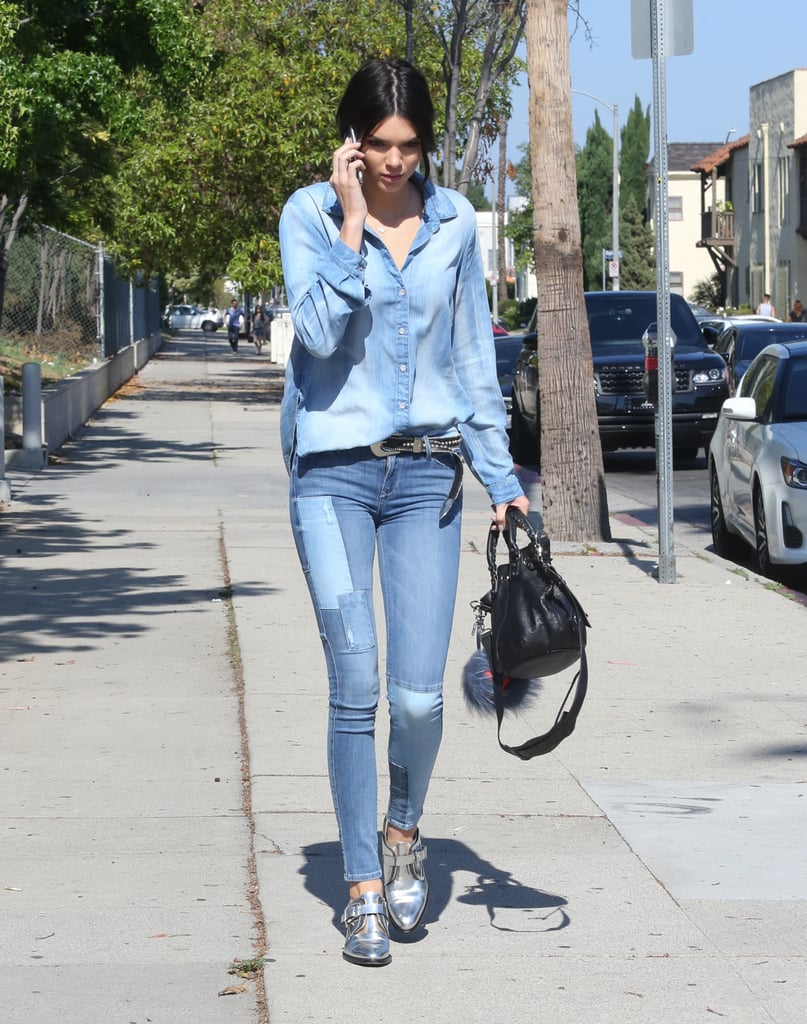 Her Canadian Tuxedo Is a Step Above the Rest