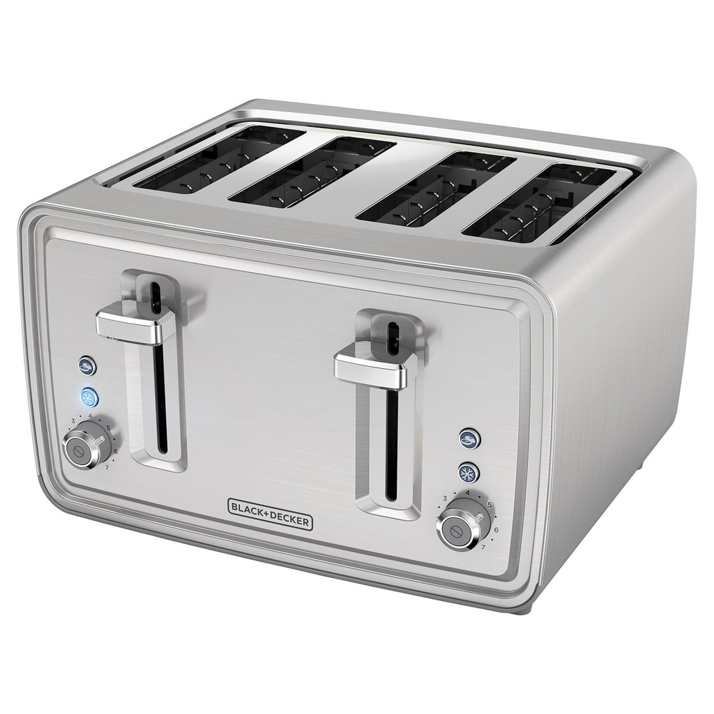 Black + Decker 4-Slice Toaster