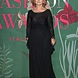 Alberta Ferretti at The Green Carpet Fashion Awards 2019