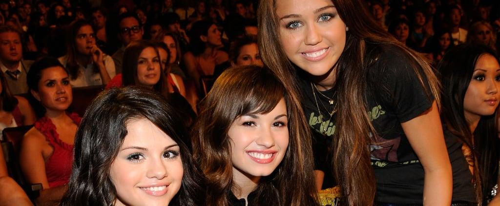 Miley Cyrus, Selena Gomez, Demi Lovato Friendship Timeline