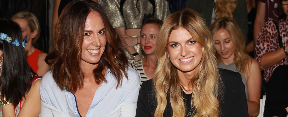 2014 MBFWA Front Row Fashion Week Celebrity Hair And Beauty