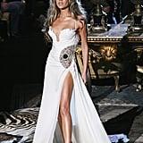 She Walked the Roberto Cavalli Catwalk at Milan Menswear Week