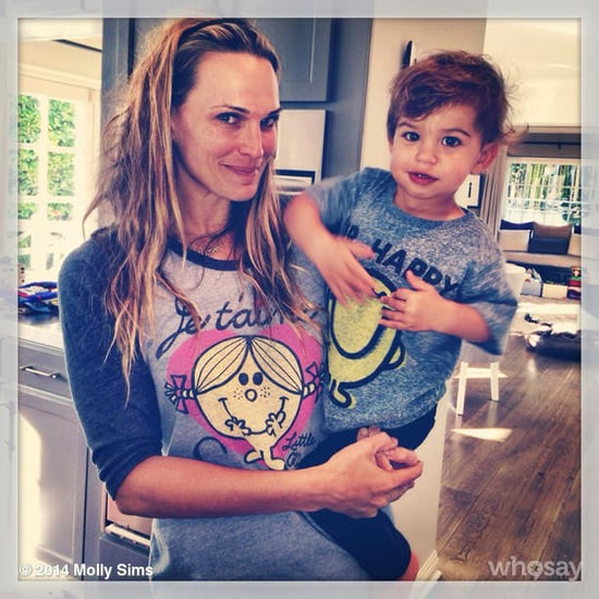 Celebrity Moms' Instagram Pictures Week of Jan. 5, 2014