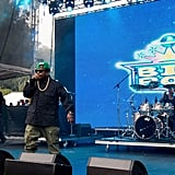 Rapper Big Boi played a daytime show.