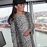 Kate Middleton was looking lovely and happy as she attended a cruise ship naming ceremony in Southampton, England, on June 13.