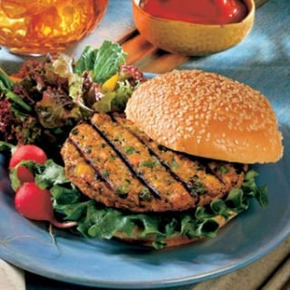 Calories in Vegan and Gluten-Free Veggie Burgers