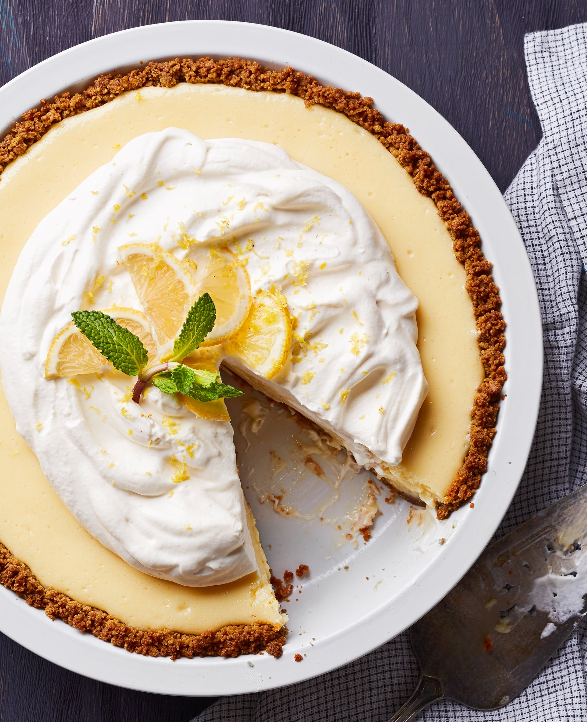 Joanna gaines lemon pie recipe popsugar food joanna gainess lemon pie is one of her favorite desserts and she shared the famous recipe in the spring issue of the magnolia journal chip and joannas forumfinder Gallery