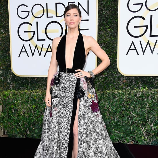 Cleavage Revealing Golden Globe Awards Dresses 2017