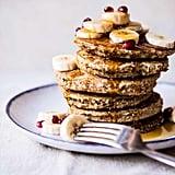 Healthy Chai Banana Pancakes