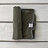 Heather Olive Green Swaddle Blanket ($24)
