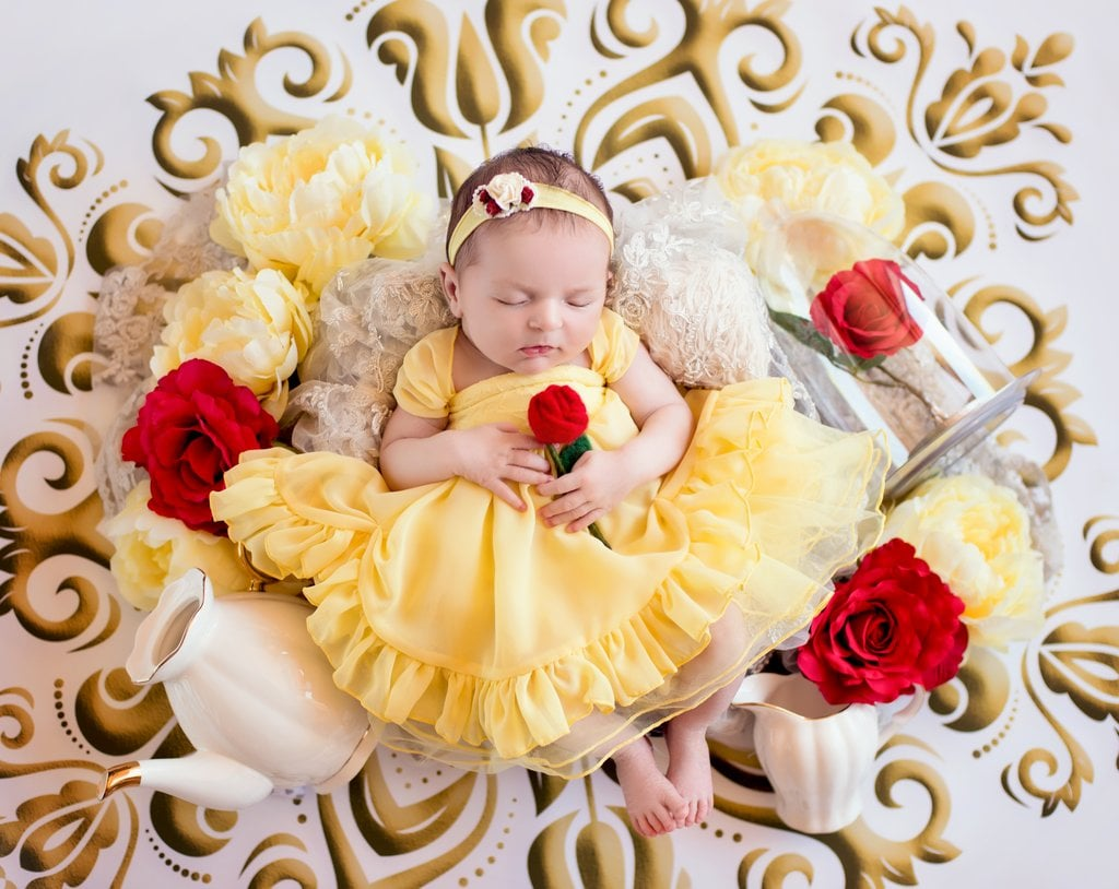 Belle as a Newborn