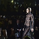 Gigi Hadid on the Tom Ford Fall 2020 Runway