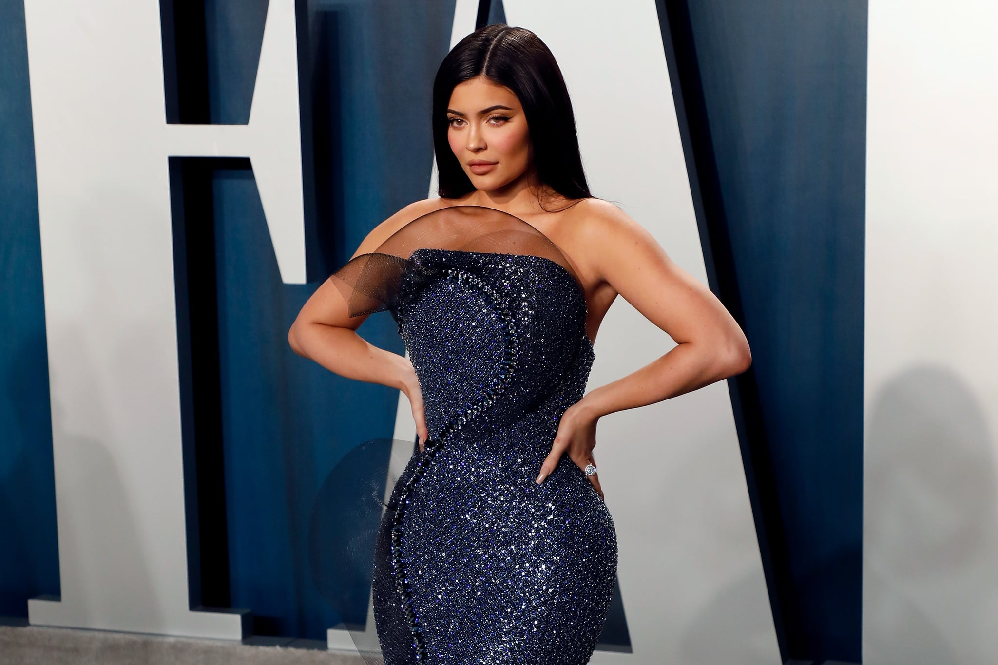 BEVERLY HILLS, CALIFORNIA - FEBRUARY 09: Kylie Jenner attends the 2020 Vanity Fair Oscar Party at Wallis Annenberg Centre for the Performing Arts on February 09, 2020 in Beverly Hills, California. (Photo by Taylor Hill/FilmMagic,)