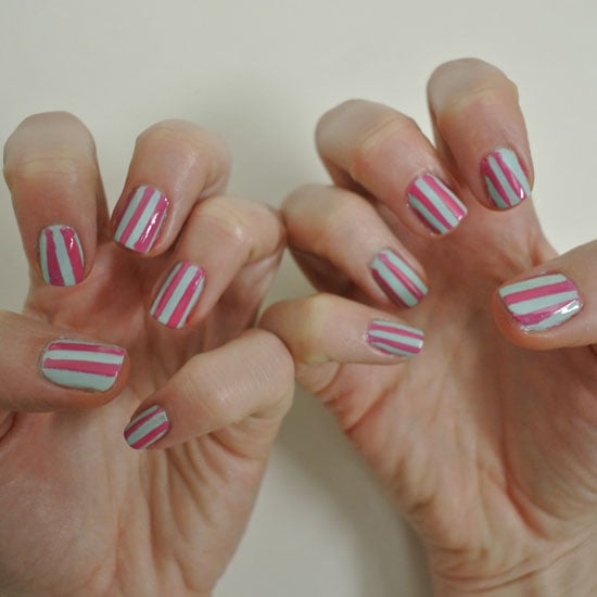 DIY Nail Art: The Sticky Tape Manicure