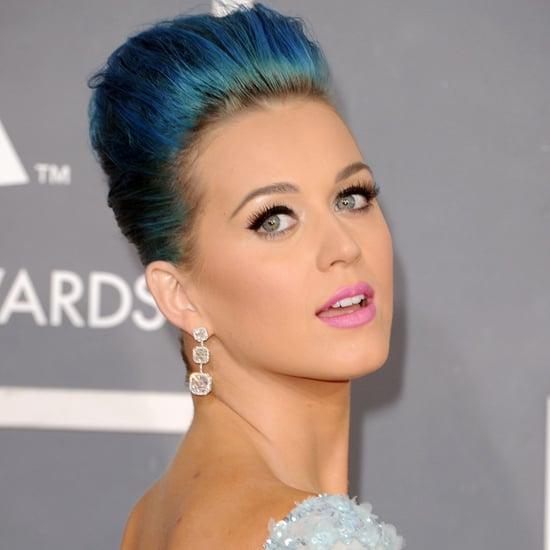 Katy Perry's Hair and Makeup at the 2012 Grammy Awards