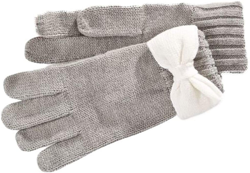 Kate Spade New York Colorblock Bow Gloves