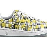 Buy the Yellow Plaid Sneakers Here