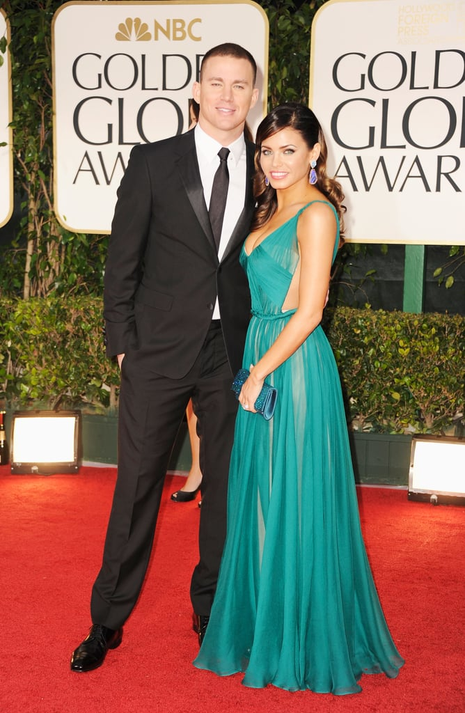 Channing Tatum and Jenna Dewan dressed to impress for the 2012 ...