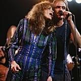 Carly Simon and James Taylor