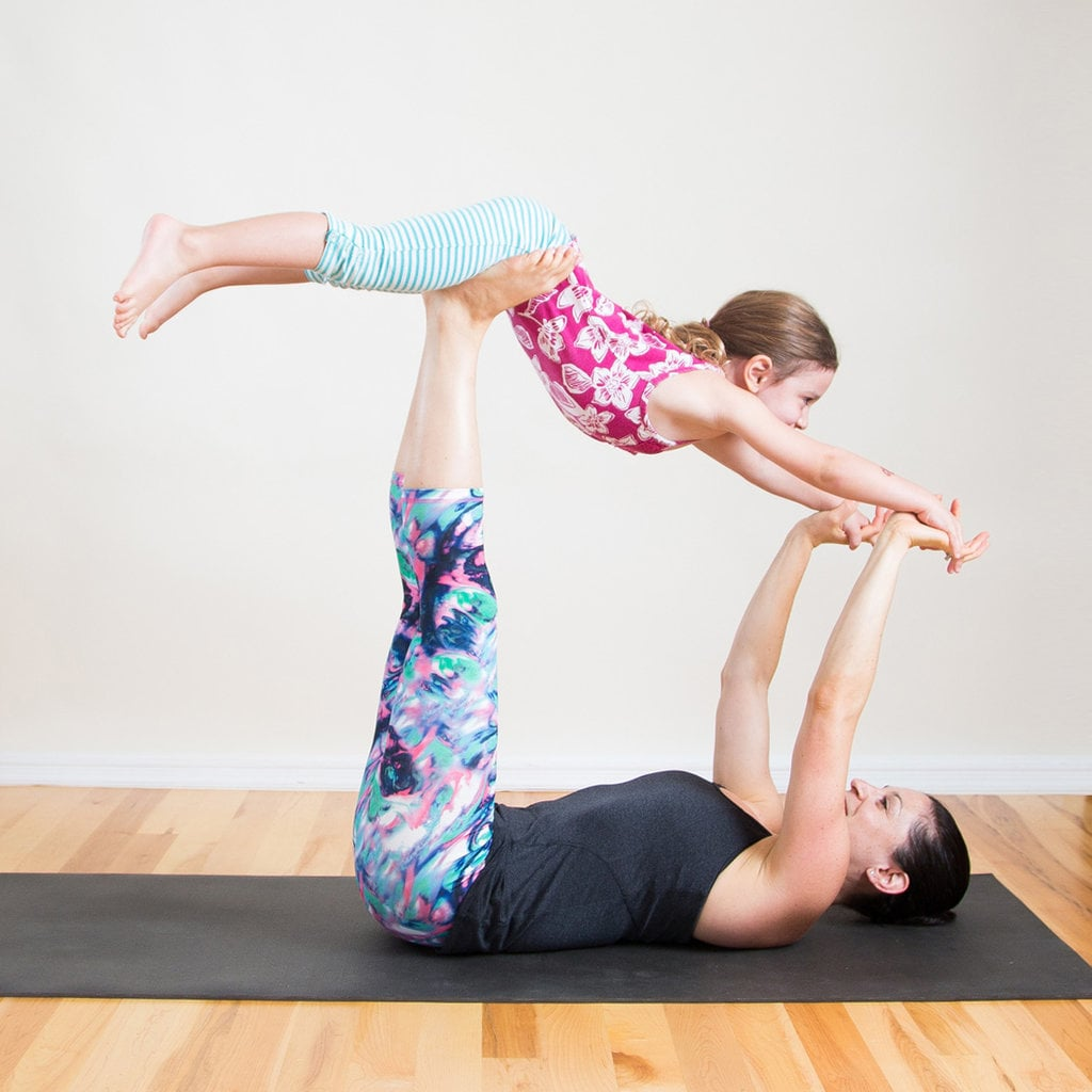 Mommy and Me Yoga Poses | POPSUGAR Fitness