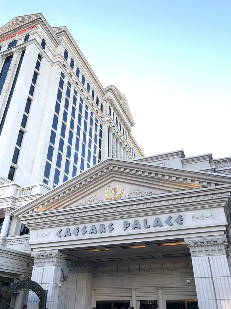 It's part of Caesars Palace, located right across from the main entrance to the hotel.