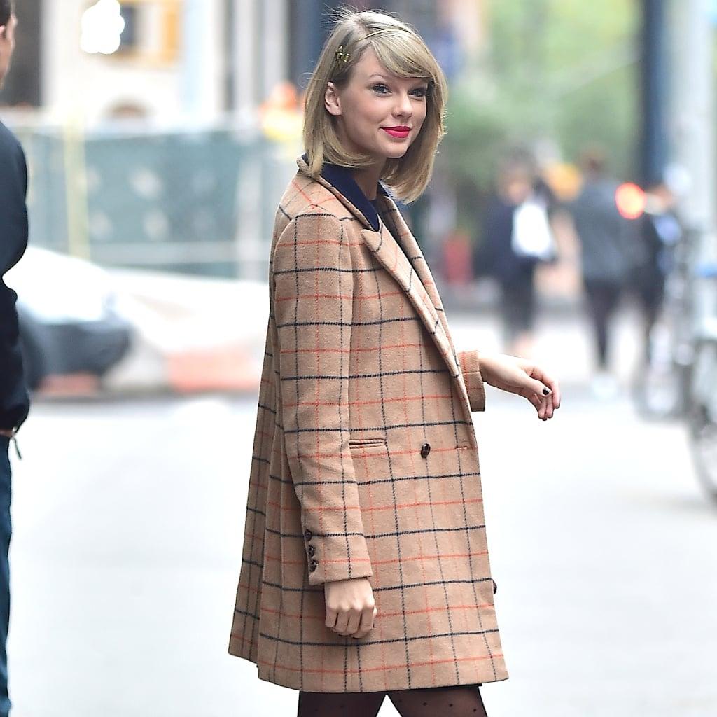 Taylor Swift S Coats Popsugar Fashion