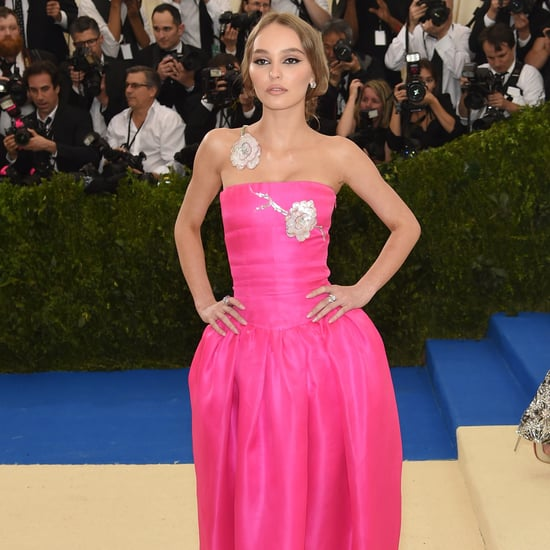 Lily-Rose Depp Wearing Chanel Gown to Met Gala 2017