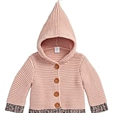 Nordstrom Baby Organic Cotton Hooded Cardigan