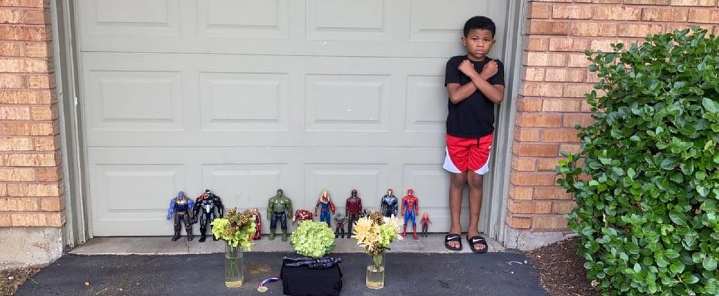 Boy's Touching Tribute to Black Panther's Chadwick Boseman