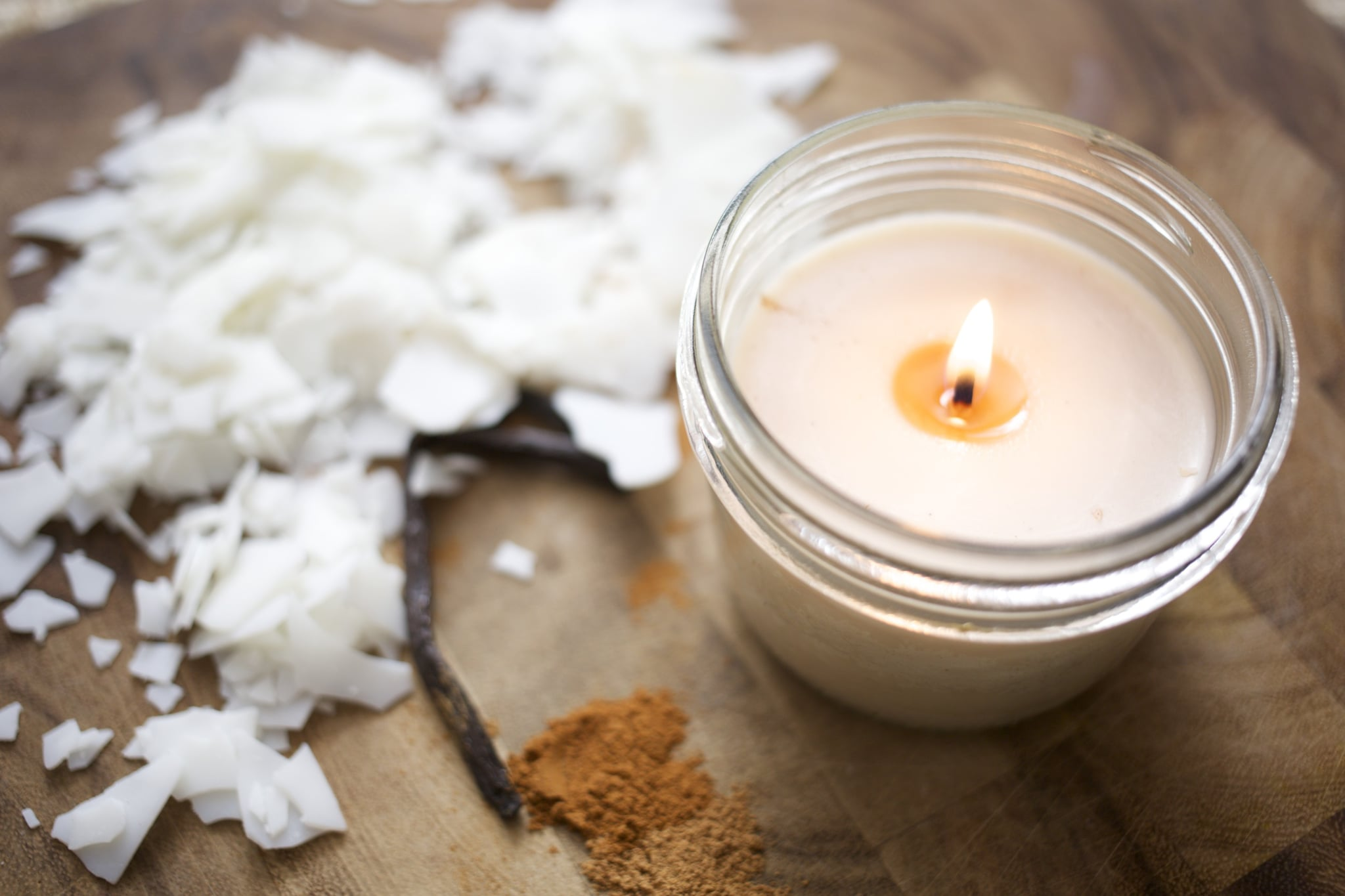 Diy Fall Candles Popsugar Smart Living Natural Soy Wax Scented Cinnamon Vanilla Made From Ingredients The Fragrance Of These Will Be Much Less