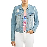 Sofia Jeans by Sofia Vergara Marianella Destroyed Denim Jacket