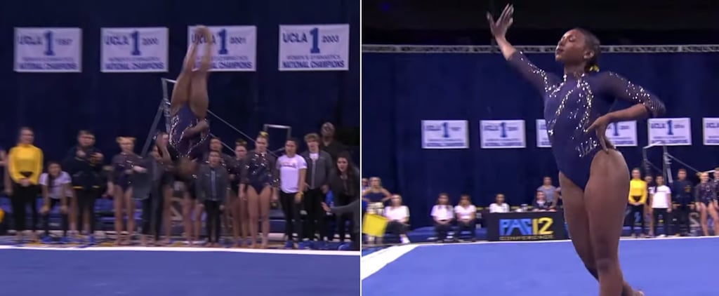 Nia Dennis UCLA Beyoncé Homecoming Floor Routine 2020