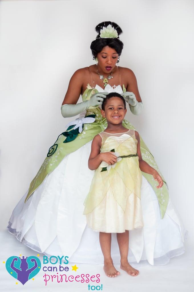 Photos of Boys Dressed as Disney Princesses