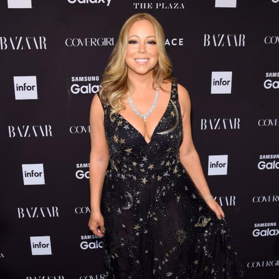 Mariah Carey Attends Harper's Bazaar Icons Event in New York